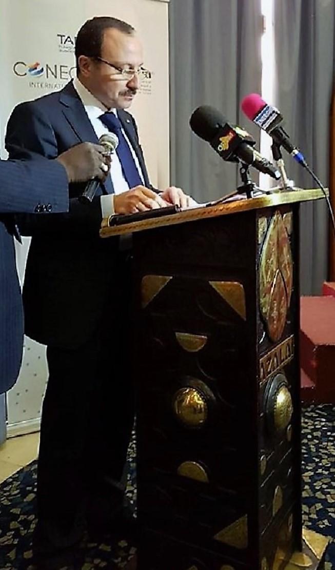 - TABC, CONECT-International-l'UPMI-mission-prospection-à Bamako-cinq ministres-maliens-à-l'ouverture-des-travaux