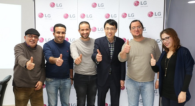 - LG-Electronics-Tunisie-remise-des-prix-aux-gagnants-du-concours-GIFEK