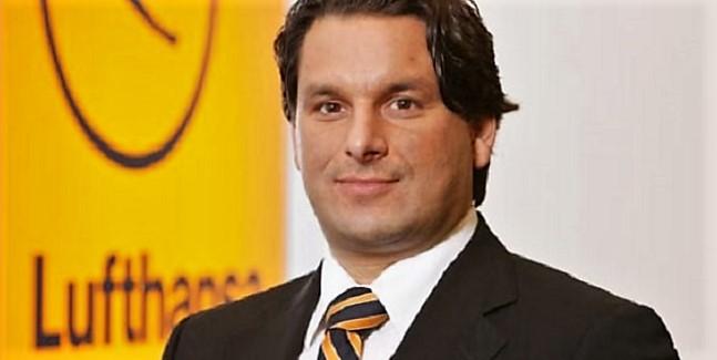 Tamur Goudarzi-Pour, vice-président des ventes et services chez Lufthansa Moyen- Orient, Afrique et Europe du Sud-Est