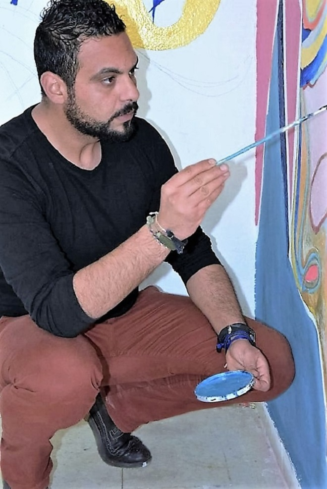 - Art-contemporain-dans-l'espace-public-une-inédite-initiative-lycéenne-à-El-Menzah-6-Houssem-Eddin-Ayari-3