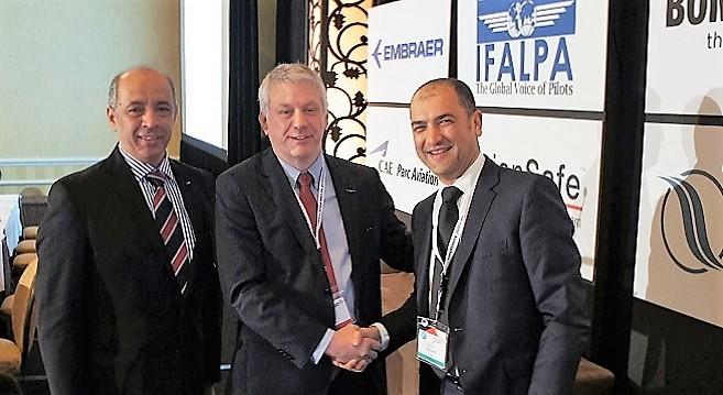 - IFALPA-Souhaiel-Dallel-commandant-de-bord-de-Tunisair-réélu-à-la vice-présidence-pour-la région-MENA