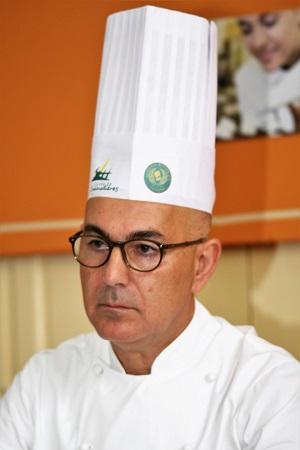 Le Chef Mounir El Arem (Restaurant Le Baroque)