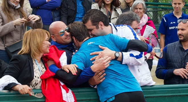 - Roland-Garros-2016-Malek-Jaziri-(70e) bat-Florian-Meyer-en-4-sets-0
