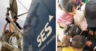 SES et Solarkiosk apportent Électricité et Internet à un Centre Educatif dans un Camp de Refugies en Jordanie