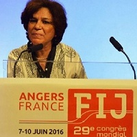 - Congrès-de-la-FIJ-Néji-Bghouri-Tunisie- élu-membre-de-l'exécutif-avec-155 voix-Sabina Inderjit-200