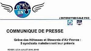 - Air-France-grève-des-hôtesses-et-stewards-du-27-juillet-au-2 août- 30000-passagers-affectés-6