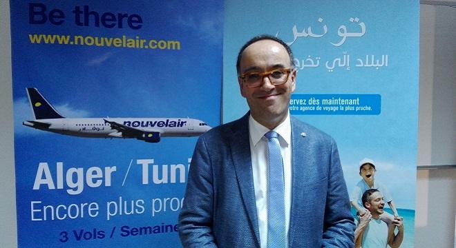- Alger-Le-vol-inaugural-Tunis-Alger-de-Nouvelair-fêté-en-grande-pompe-à-l'Aéroport-Houari-Boumediene-bttTt
