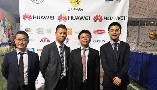 - Huawei-soutient-et-assiste-activement-l'Evénement-Caritatif-de-Football-La-Joie-de-l'AID -3