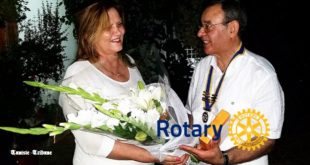 Najoua Azouz (Tunisie) prend ses fonctions, ce mercredi 13 juillet, en tant que gouverneure du Rotary club Maghreb