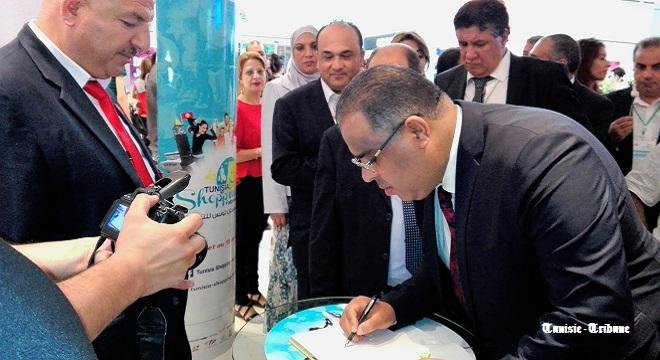 - Tunisia-Mall-Mohsen-Hassen-donne-le-coup-d'envoi-du-Tunisia-Shopping-Festival-Soldes-d'été-00