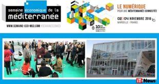 Les entreprises se mobilisent pour la 10 ème Semaine économique de la Méditerranée (2-4 nov.) à Marseille, Villa Méditerranée
