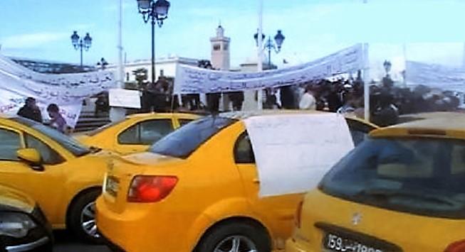 greve-des-taxis-ras-le-bol-des-pv-et-amendes-pour-mauvais-comportement-et-des-taxistes-intrus-2