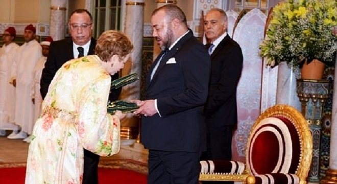 le-roi-mohammed-vi-feminise-la-diplomatie-marocaine-par-13-femmes-dont-latifa-akharbach-nommee-a-tunis
