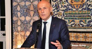 Vœux à la presse de SE Olivier Poivre d'Arvor avec des engagements en faveur des médias et de la conversion de la dette