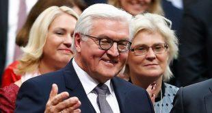 Allemagne : Frank-Walter Steinmeier, le nouveau président de la République appelle au «courage» face à Trump