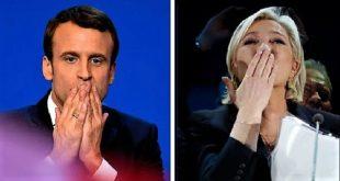 Présidentielle française 2017 : les résultats du 1er tour donnent Emmanuel Macron et Marine Le Pen en tête