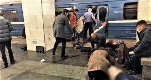 Russie : alerte dans le métro de Saint-Pétersbourg, au moins 10 morts et plusieurs blessés
