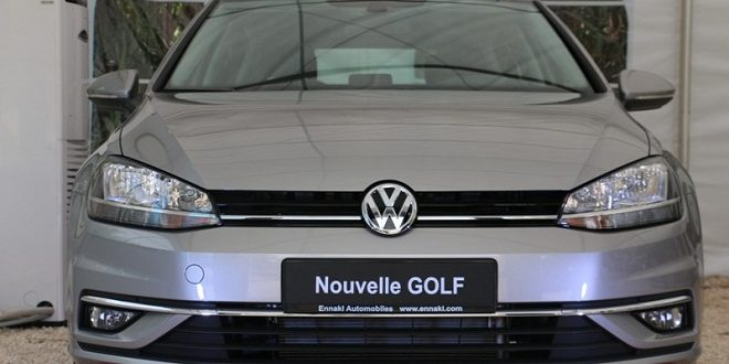 la nouvelle golf facelift de volkswagen style confort et fiabilit tunisie tribune. Black Bedroom Furniture Sets. Home Design Ideas