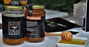 Dégustation du miel « Apis Vaga », produit par l'initiative solidaire d'un groupe de 100 jeunes apiculteurs du Nord-Ouest