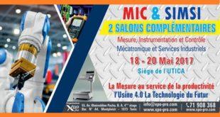 MIC & SIMSI : 2 expositions internationales en faveur des entreprises industrielles tunisiennes