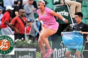 Roland Garros (3e tour) : Ons Jabeur (113e) sort par la grande porte, éliminée par la Suissesse Timea Bacsinszky (31e)