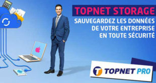 Topnet lance sa nouvelle offre «Topnet Storage»