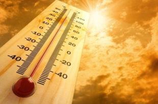 Les températures atteindront 50 degrés, à partir du week-end
