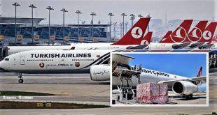 Turkish Airlines aide la Somalie en luttant contre la famine et la sécheresse