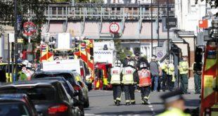 Attentat dans le métro de Londres : 29 personnes blessées et niveau d'alerte relevé de «sévère» à «critique»
