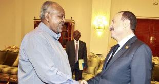 Le Président Djiboutien reçoit une délégation d'hommes d'affaires Tunisiens