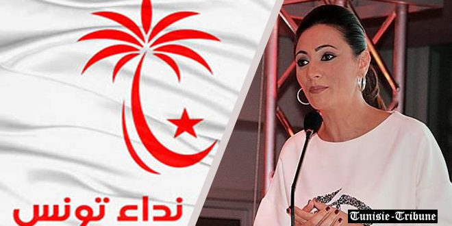 Wafa Makhlouf candidate à la présidence de Nidaa Tounes