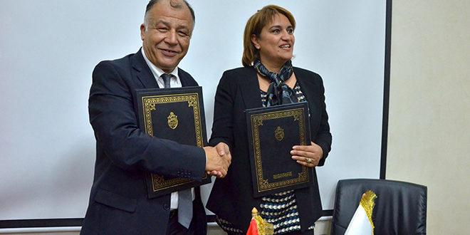 Signature d'une convention de partenariat stratégique entre l'APRH Tunisie et l'ITES
