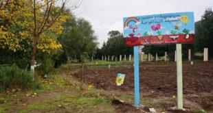 L'Association Un Enfant Des Sourires retourne à Tabouba : des vêtements chauds, une cantine scolaire et un jardin-potager pour les écoliers