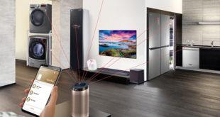 LG expose sa gamme d'équipements domotiques intelligents !