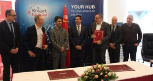 Teleperformance Tunisie signe une convention de partenariat avec Smart Tunisia au Ministère des Technologies de la Communication et de l'Information
