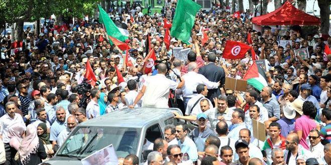 La coordination nationale des mouvements sociaux appelle à la lutte contre l'incrimination des manifestations