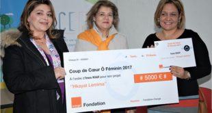La Fondation Orange vient d'attribuer le Prix «Coup de cœur Ô féminin 2017» à Ines Khlif pour son projet «Hkayat Lemima»