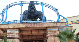 Inauguration de la nouvelle attraction 'King Kong by Carthage Land' à Yesmine Hamammet