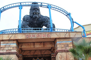 Inauguration de la nouvelle attraction 'King Kong by Carthage Land' à Yesmine Hamammet