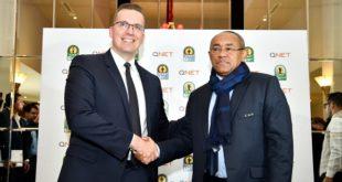 QNET, partenaire officiel de la Ligue des Champions de la CAF Total, la Coupe de la Confédération de la CAF Total et la Supercoupe de la CAF Total