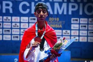 Tournoi qualificatif aux jeux olympiques de la jeunesse en Taekwondo: Mohamed Khalil Jendoubi à Buenos Aires