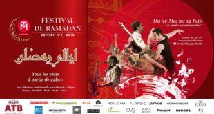 Le Festival Ramadanesque de Tunisia Mall affiche un franc succès pour sa première soirée Hadhra