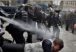 Tunis (Bab Al-jazira) : tenaces, les vendeurs ambulants clandestins ont dù subir une évacuation musclée au gaz lacrymogène