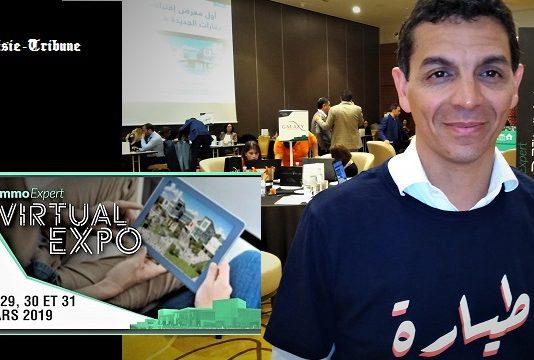 ImmoExpert Virtual Expo, le 1er salon virtuel de l'immobilier neuf qui permet aux e-visiteurs, en 3D et de manière interactive, de choisir et réserver un bien immobilier