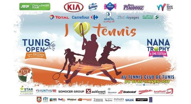 Tennis : Tableau final et classement des grandes figures du TUNIS OPEN 2019 (au TCT du 15 au 21 ...