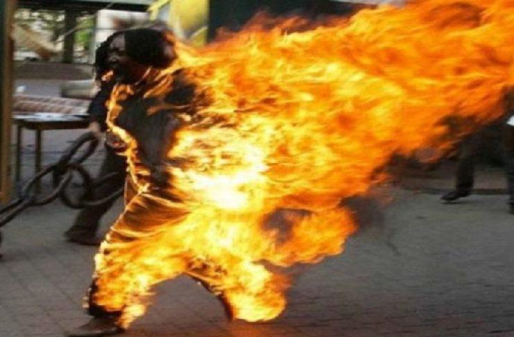 Tataouine : Un jeune homme s'immole par le feu
