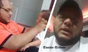 Rossé et déculotté, le père qui a maltraité sauvagement son bébé s'excuse et s'explique (vidéo)