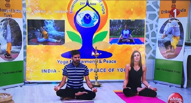 Yoga The Gift Of India To Humanity By His Excellency The Ambassador Of India In Tunisia D1softballnews Com