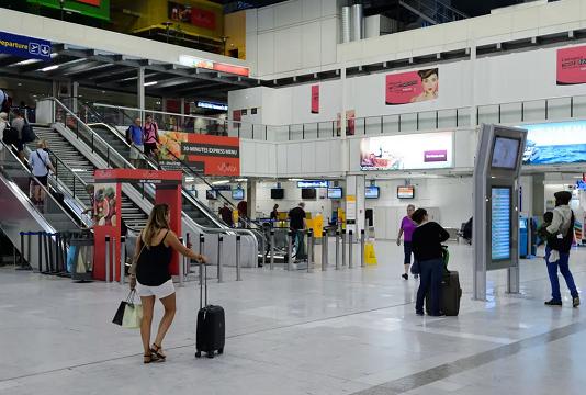 Des tests antigéniques à l'aéroport de Nice
