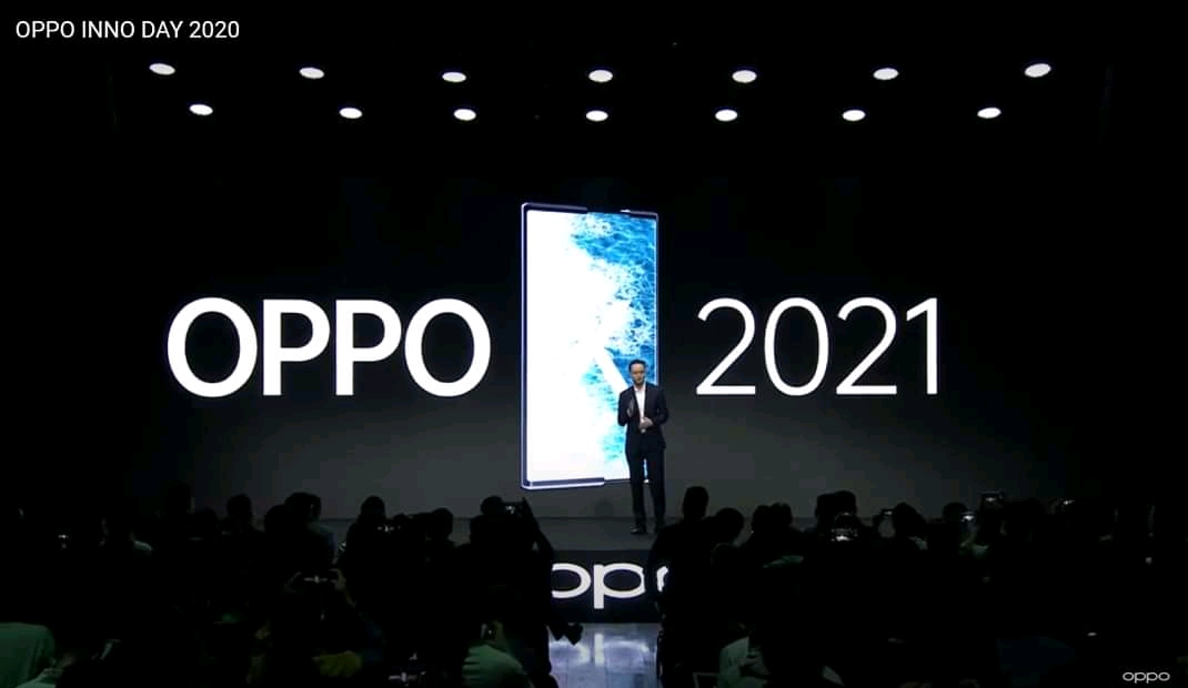 Oppo annonce son premier smartphone enroulable